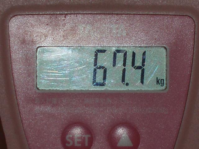 標準体重 達成!