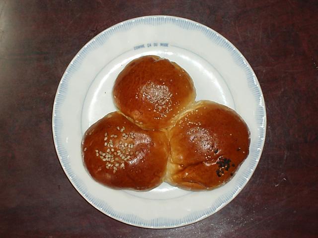 三色パンの世界